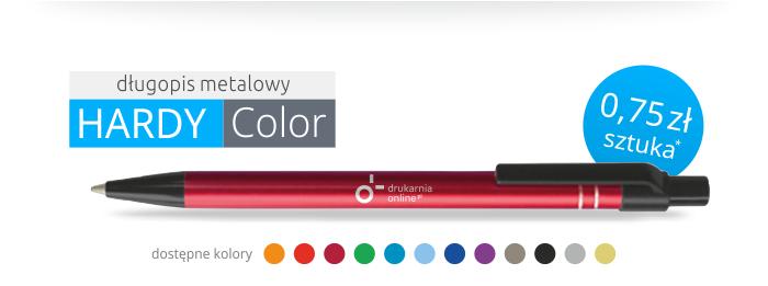 Długopis metalowy HARDY COLOR