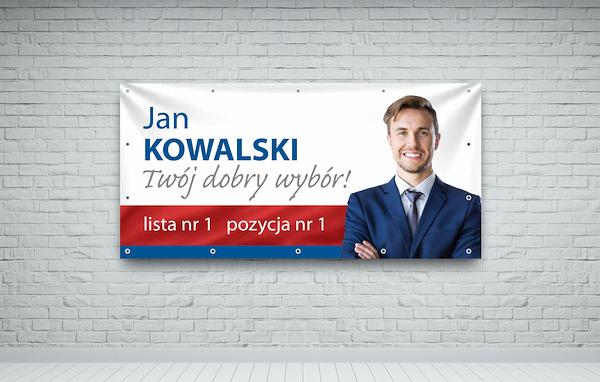 drukuj banery wyborcze