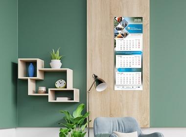 Jak zaprojektować kalendarz trójdzielny?