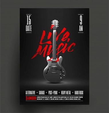 Jak zrobić plakaty koncertowe