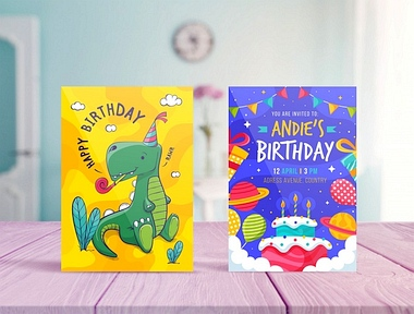 Zaproszenie na urodziny dziecka