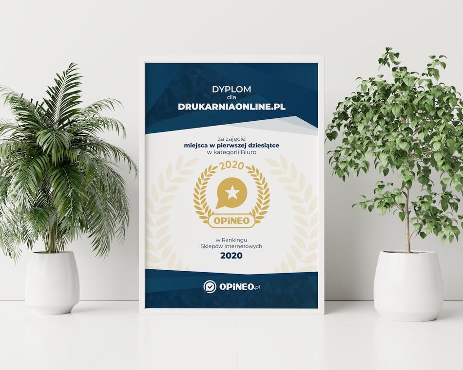 Dyplom OPiNEO 2020