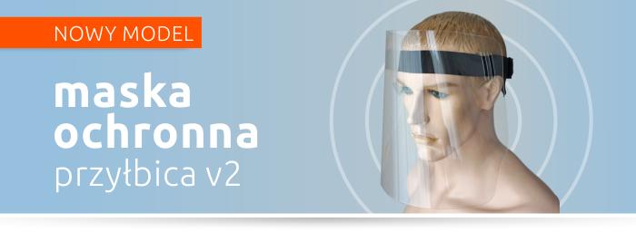 Przyłbica V2 - maska ochronna